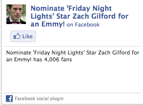 Nominate Zach Gilford for an Emmy. I support this cause a thousand percent and so should you.