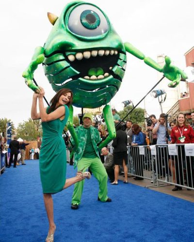 someima:  Mike Wazowski has his 'eye' on Teri Hatcher  みどりー!
