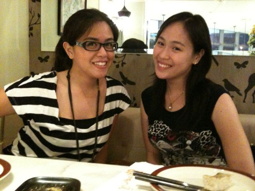 Dinner with Leng and Shinah. =)  At Chelsea.