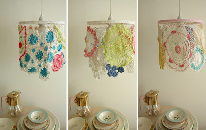 crochet lamps by NICE (by Naughty Secretary Club)