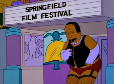 Dr. Hibbert: Oh, I thought they were playing The Rocky Horror Picture Show tonight! (laughs) - S06E18, A Star is Burns