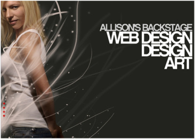 Allison's Backstage portfolio site debuts… Allison's Backstage website debuts with a whole NEW look! Enjoy! And come back for new updates! Thanks for visiting!! - www.AllisonReich.com- blog.allisonreich.com