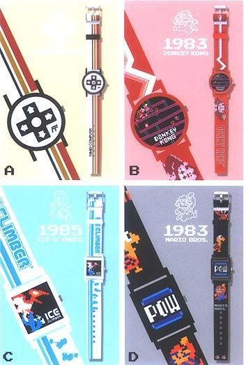 fuckyeahmariobros:  Cool Nintendo watches.