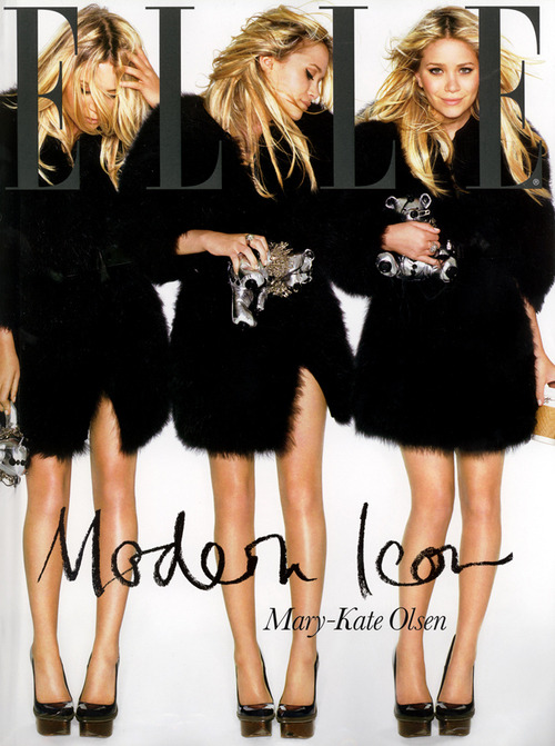 (via loveforfashion)  This cover says it all.  She's become an absolute fashion icon.  I wouldn't mind having her life.
