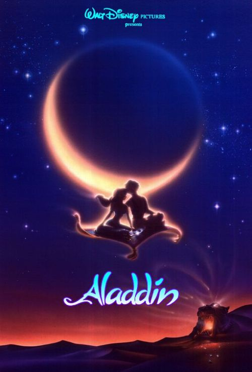 day 23 - favorite animation (3/6) Aladdin