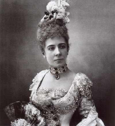 Photograph of Princess de Ligné, 1886
