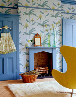 design is mine : isn't it lovely?: interior inspiration : painted interior doors.