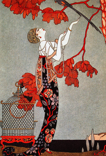 darksilenceinsuburbia:  George Barbier, 1914