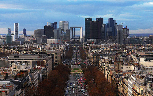 Paris skyline credit to David Giral