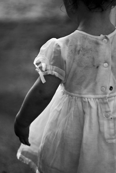 my little girl white dress. series