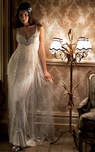 Jenny Packham Bride : The Collection  My opinion this is a late 30's early 40's dress. Not really my style but my niece likes it so I added it.