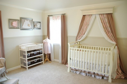 Gorgeous nursery. Lindsay is so talented!  Living With Lindsay — Creating a Beautiful Home, One Glue Gun Burn at a Time