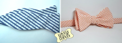 Bowties for your Father's Day gift.