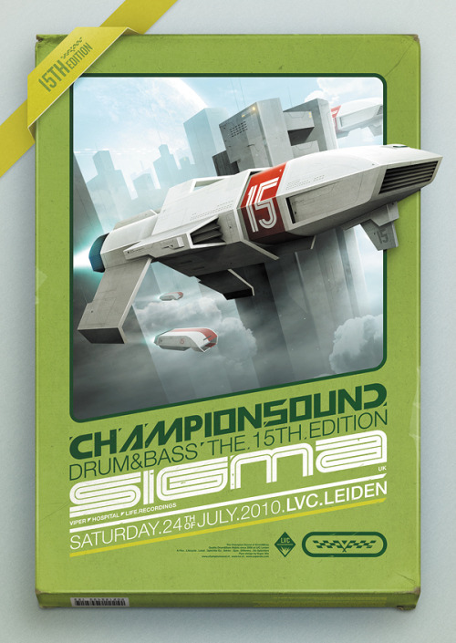 liammccormick:  SuperSWEET Flyer Design Champion Sound 15 Martijn van Dam Rest of Project here