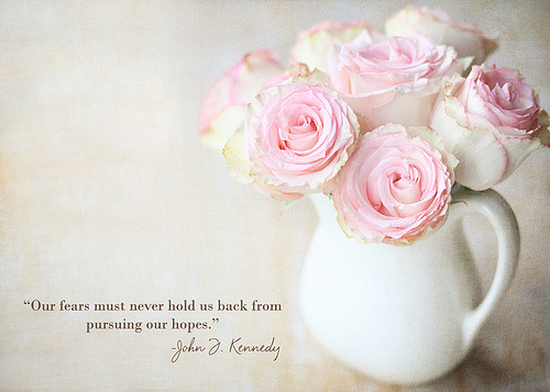 I can't get enough pink flowers in white vases  whatabeauty:  pursuing hopes. (by polkadotandplaid)