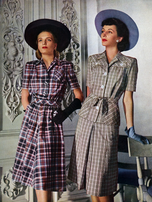 From a Vogue magazine in the 40s. and vogue started in 1892!!!!!!