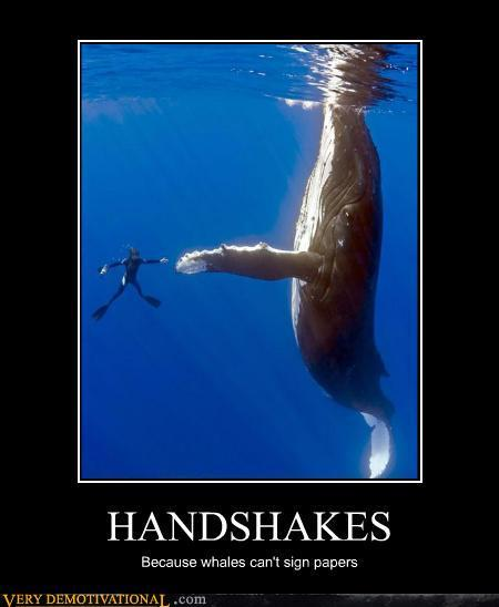 HANDSHAKES - Very Demotivational - The Demotivational Posters Blog