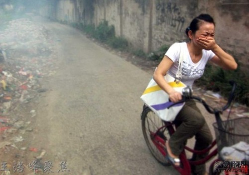 out of control pollution in china