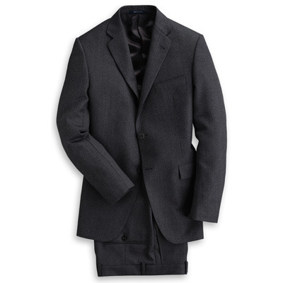 It's On Sale Charcoal Suit by Hickey Hickey is no longer creating new product, which is unfortunate, because they had a nice cut and quality construction.  This is an excellent base suit for someone out there who needs something to wear to Suit Occasions like interviews and funerals and maybe even weddings (and who also happens to be a 44R, at this point).  They have lots of other stuff on sale, too, as they continue to sell down their stock. $318.75 from $1275 at HickeyStyle.com