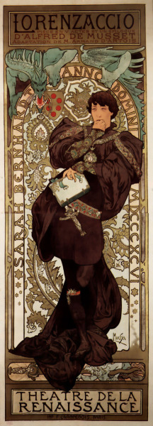 felilps:  1896. No photoshop, illustrator, not even Corel. Alfons Mucha, such a master!