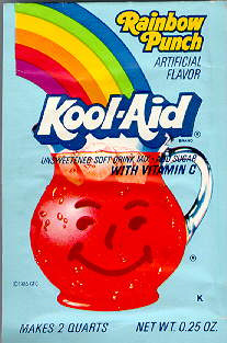 Rainbow Punch Kool-Aid