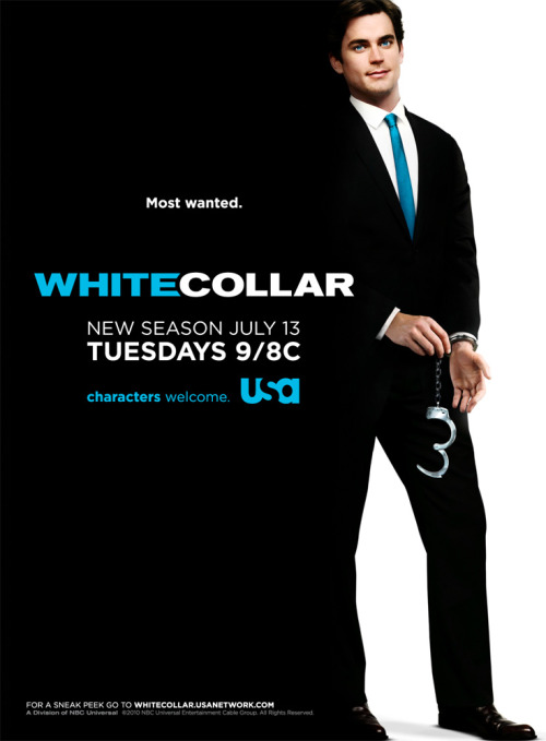 buffywoo:  I CAN'T WAIT! Check out the new WHITE COLLAR Season Two poster!   This is a whole lot of awesome!