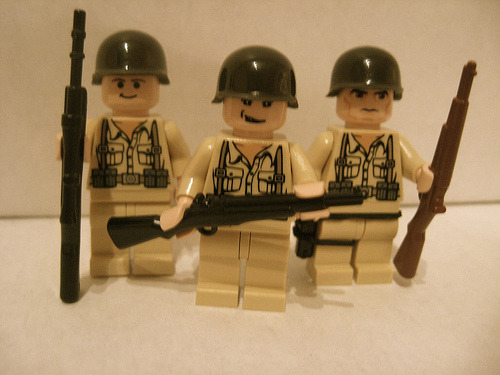 Lego Joe Toye, Joe Liebgott, and Buck Compton