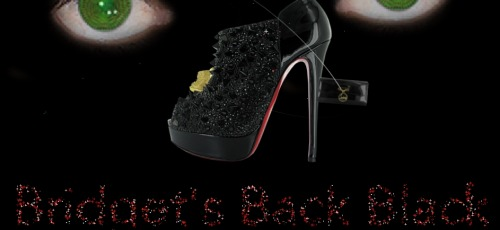 Bridget's Back Black-Louboutin Fall Winter 2011