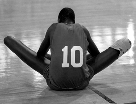 Rest in Peace, Manute Bol. A happy man. The butt of too many easy jokes, who was actually a saint.