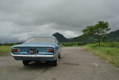 One Cloudy Day Starring: 1969 Opel Rekord C via carpr0n