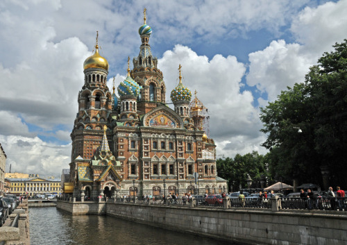 allthingseurope:  Church of the Savior on Spilled Blood in Saint Petersburg Russia source