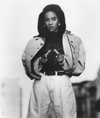 MC LYTE. back when you aint have to be nasty or look like Halle Berry to be a respected female mc