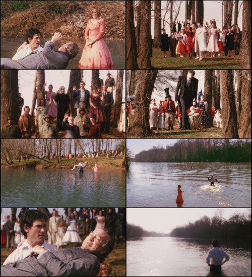 Will: As we get close to the river we see that everybody is already there. And I mean… everyone. It's unbelievable. The strange thing is, there's not a sad face to be found. Everyone is just so glad to see you and send you off right. You become what you always were. A very big fish.