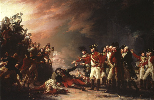 John Trumbull - The Sortie Made by the Garrison of Gibraltar