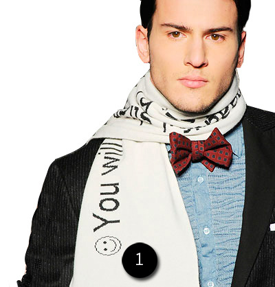 i want this scarf more than anything from fall 2010. 1: michael bastian fortune cookie scarf: it will be mine, oh yes, it will be mine
