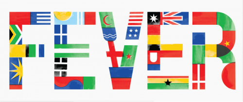 flags and flag elements, by Alan Kitching Friends of Type — World Cup, Flag Day & Kitching Fever // nelsie: via gofonturself