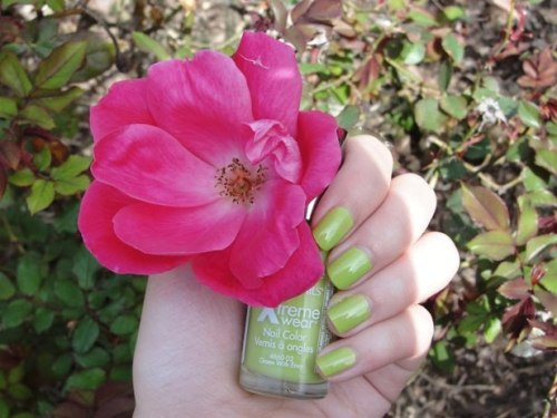 "Sally Hansen ""Green With Envy"".  From here."