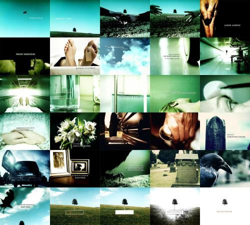 Day 18 -  Favorite title sequence  Six Feet Under  (collage via paperbuildings)
