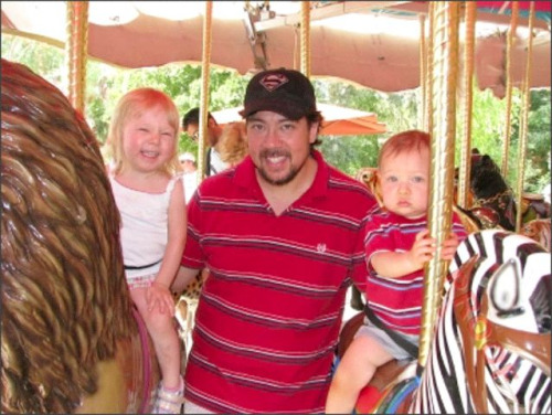 Me and the kiddos at the zoo a few weeks back.