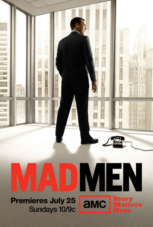 MAD MEN Season 4 Poster!! So excited!