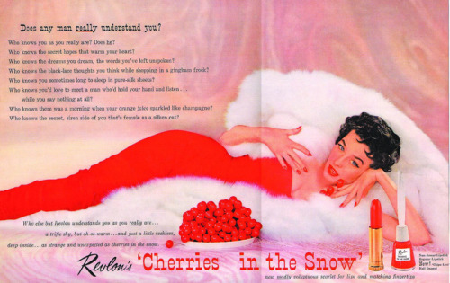 "Revlon ""Cherries In The Snow"", a 1950s classic that's still around."