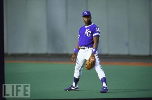 Bo Jackson of the Kansas City Royals