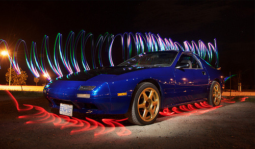 Something is burning in here Starring: Mazda RX-7 FC (by DaMongMan)