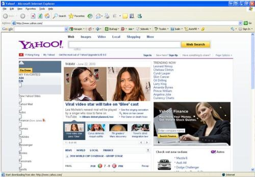 Yay! Charice on Yahoo! homepage… and take note…not just on Yahoo.ph but on yahoo.com  hahahaha….