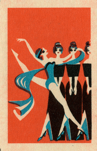 Vintage Matchbox Cover via maraid