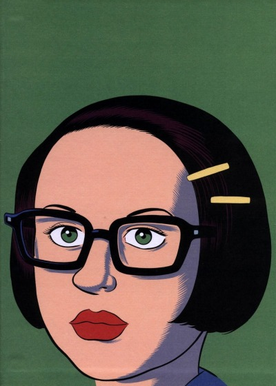 Enid by Daniel Clowes. (via Peter Nidzgorski)
