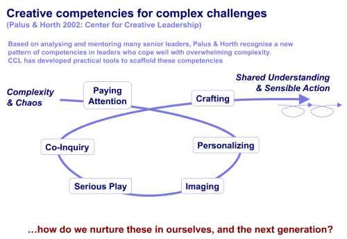 Creative competencies for complex challenges