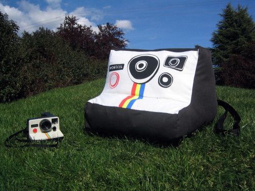 photojojo:  Haven't you always wished you could snuggle up with your camera?  PLUSHAROID