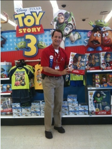 "As far as pictures go, this is the best one. Ever. ""Hi, welcome to Target. I'M TOM HANKS."""