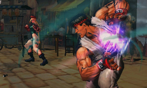 New screens for Super Street Fighter IV 3DS